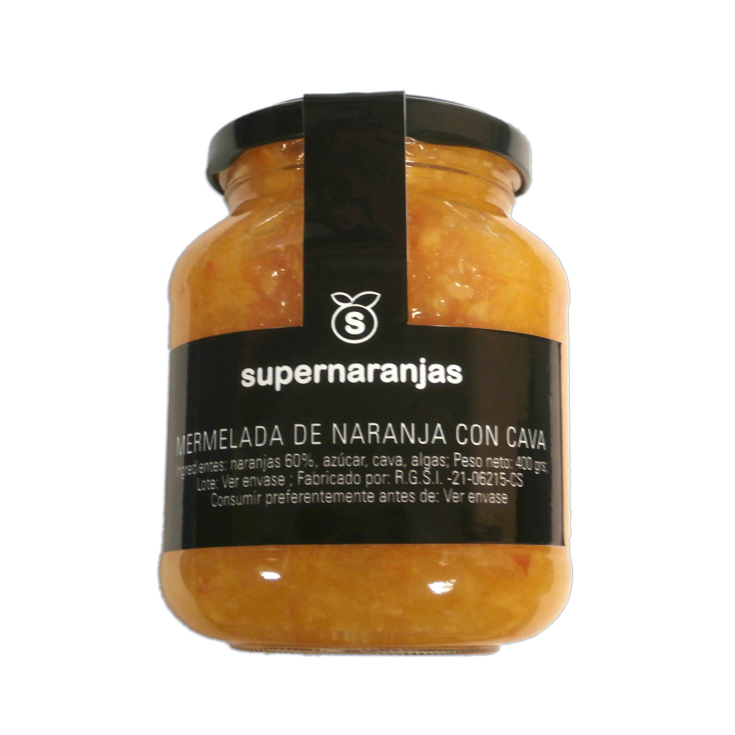 Marmalade with cava 400 gr.