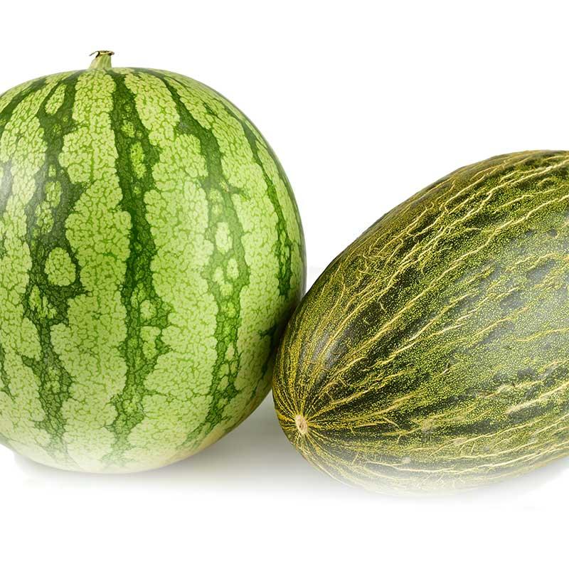 Mixta Melones y Sandías de Xilxes (apróx. 20kg) a Domicilio 24h